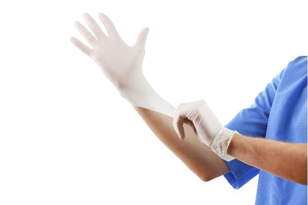 Latex gloves ALDENA