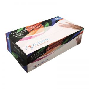 Vinyl Gloves ALDENA Powder free x 100 pcs